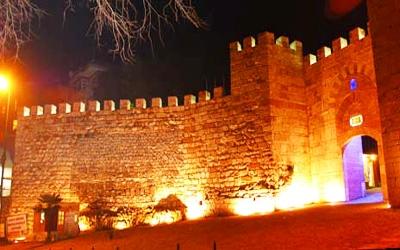 Во внешней крепости находятся два главных входа
