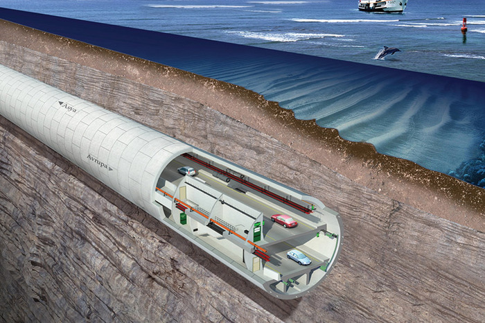 тоннель Евразия в Стамбуле