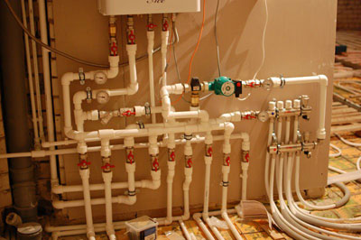 Схема газового отопления частного дома фото 610